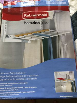 Rubbermaid pants organizer - have 2-$20 each for Sale in Grove City, OH