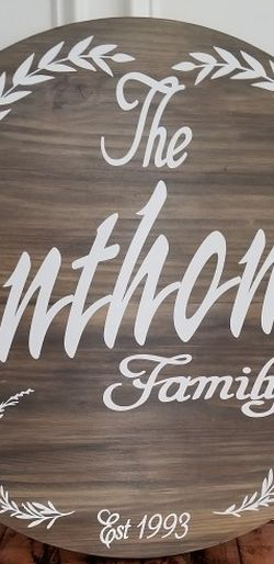 Personalized Wooden Signs for Sale in Atlanta,  GA