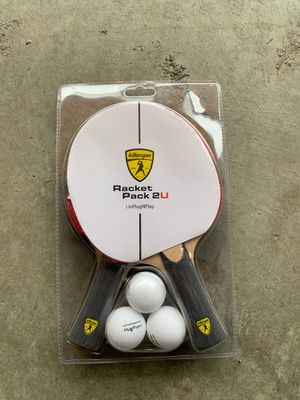 Killerspin Racket Pack 2U for Sale in Kenmore, WA
