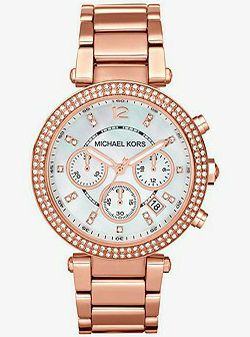 MICHAEL KORS Parker Rose Gold-Tone Watch for Sale in Tacoma,  WA