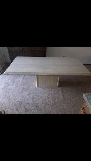 Travertine dining table for Sale in Kirkland, WA
