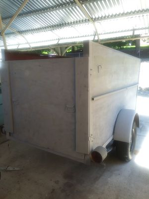 Utility trailer 4 by 4 by 8 single axle for Sale in Vancouver, WA