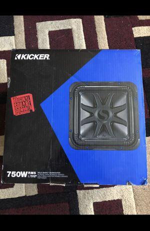 """CAR SPEAKER KICKER 12"""" for Sale in Mountain View, CA"""