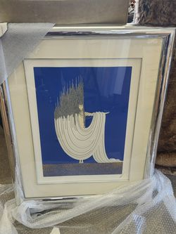 ERTE' - THE ARCTIC SEA - EMBOSSED, SIGNED & NUMBERED LIM. ED. SERIGRAPH - FRAMED for Sale in Vernon Hills,  IL