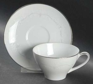 2 sets Noritake Whitebrook cup & saucer for Sale in Silver Spring, MD