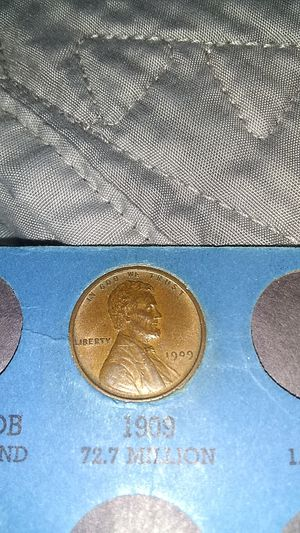 1909 penny. RARE!! for Sale in Long Beach, CA