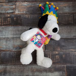 "Year 2000 Macy's Peanuts 24"" Snoopy Court Jester Plush Stuffed Animal for Sale in Las Vegas, NV"