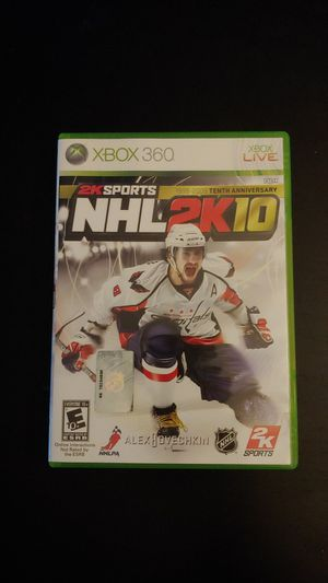 XBOX 360 NHL 2K10 Complete Microsoft Game Working for Sale in Tacoma, WA