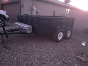 10x6.8 trailer clean title this is not a dumping trailer for Sale in Mesa, AZ
