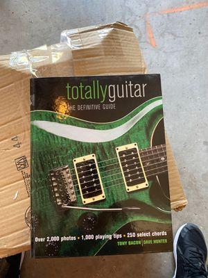 Guitar book for Sale in Vista, CA