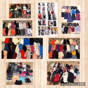 Name brand women's clothing most from Nordstrom's, Victoria's Secret, Nike, Adidas, Bebe $5-$20 each for Sale in Fremont, CA