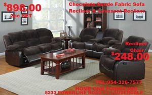 Recliner sofa set for Sale in Fort Lauderdale, FL