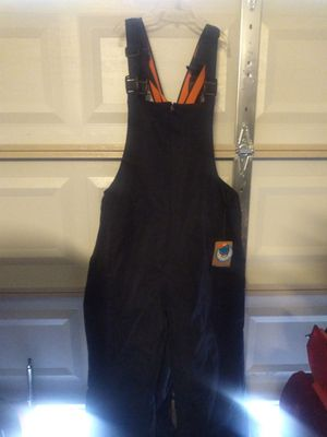 Med. Or 2xL Megellin fishing overalls for Sale in Houston, TX