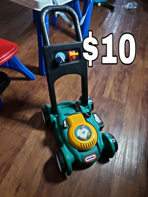 Kids toy lawnmower for Sale in Missouri City, TX