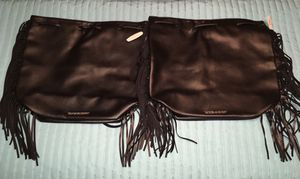 Victoria's Secret black faux leather backpack purse for Sale in Brandon, FL