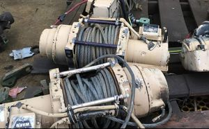 Warn 18 series 24v winches for Sale in Bloomington, CA
