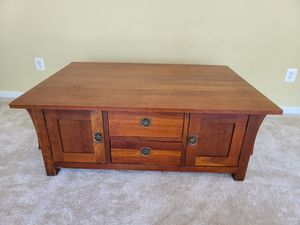 Solid Wood Kincaid Coffee Table for Sale in Aldie, VA