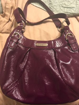 Coach -patent leather bag for Sale in Greenbelt, MD