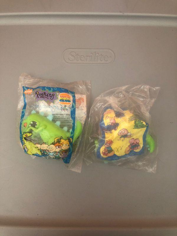 Rugrats Burger King toys
