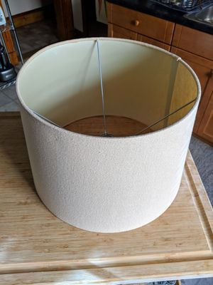 Lamp Shade (Light beige with Gold Specks) for Sale in Newton, MA