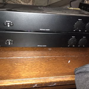 P75 Two-Channel, 75W, Dual Source Amplifier for Sale in West Palm Beach, FL