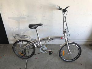 BC Folding Bike (Silver) for Sale in Avondale, AZ