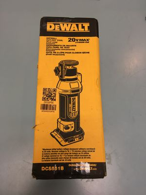 DEWALT 20V max drywall cut out tool industrial tool set in box BCP007095 for Sale in Huntington Beach, CA