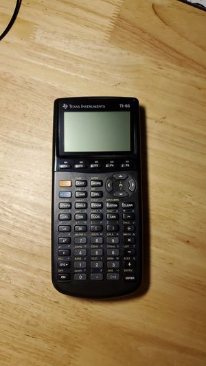 Texas Instruments TI-86 Calculator. With Case. for Sale in Fremont, CA