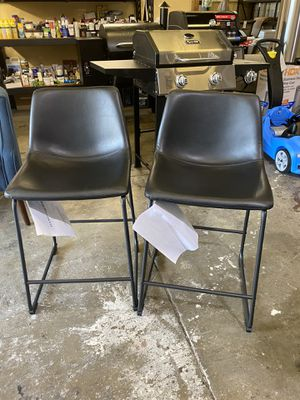 26 inc counter chair / black for Sale in Baldwin Park, CA