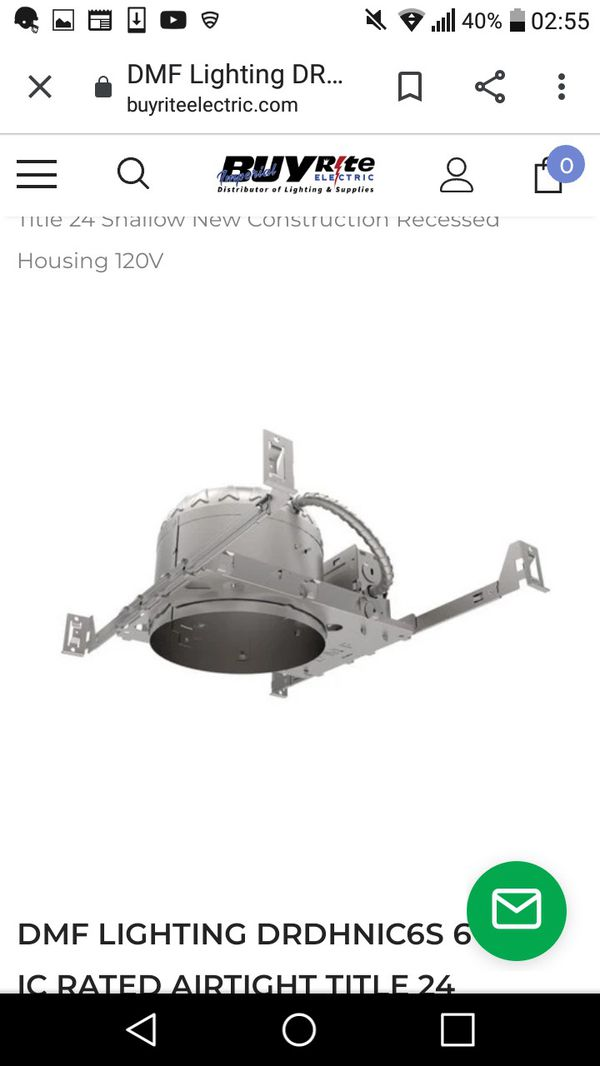 New in the box! LED lighting housing unit