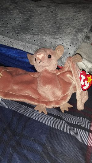 Batty Beanie baby. Style 4035. Rare. Great deal. for Sale in Suwanee, GA