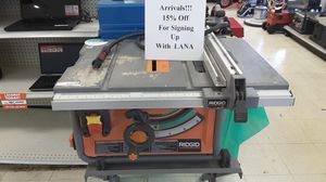 RIDGID R4517 TABLE SAW for Sale in Casselberry, FL