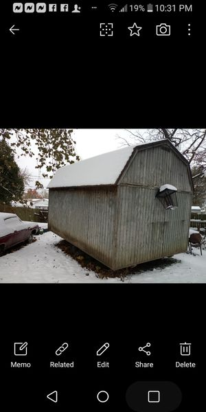 Shed with loft for Sale in Rosewood Heights, IL