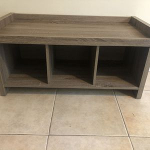 Entry Way Storage Bench for Sale in Oceanside, CA