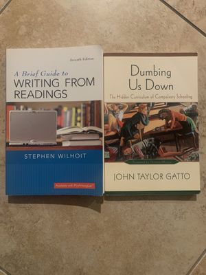 Writing From Readings for Sale in Corona, CA