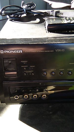 Pioneer audio /video stereo receiver VSX_53 ELITE for Sale in Phoenix, AZ