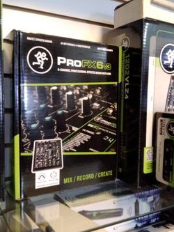 Mackie Pro Fx6v3 On Sale For 139 for Sale in Huntington Park,  CA