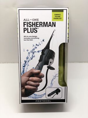 Protocol Fisherman All In One Folding Fishing Rod Set for Sale in Rosemead, CA