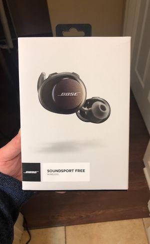 (REDUCED)Bose Soundsport free Wireless Headphones for Sale in Missoula, MT