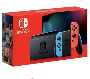 Nintendo switch red / blue console 32gb for Sale in Cliffside Park, NJ