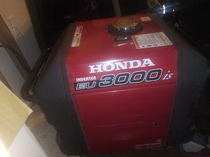 Honda EU 3000 is generator for Sale in Miami, FL