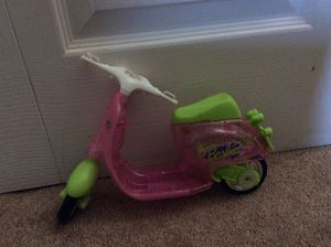 Barbie Doll s scooter in pink & green color for Sale in Springfield, VA