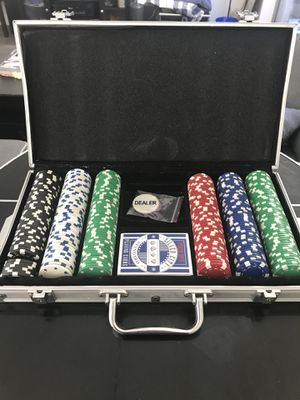 Poker Set - 300 chips for Sale in Los Angeles, CA