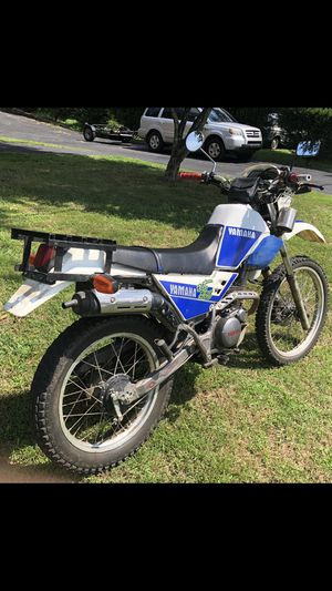 1992 Yamaha TTR-225 dual sport, LOW 3800 miles! NICE!! for Sale in High Point, NC