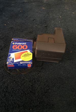 Polaroid camera w/ film for Sale in Rockville, MD