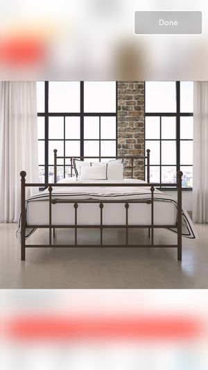 Size Full Bed frame for Sale in Cleveland, TN