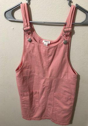 Forever 21 pink overall dress for Sale in San Bernardino, CA