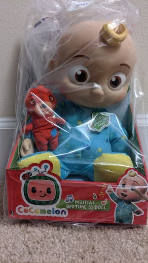 Cocomelon Musical Bedtime JJ Doll for Sale in Bethesda, MD