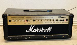 Marshall MG100HGFX 100-watt Head w/ Effects for Sale in Fort Worth, TX