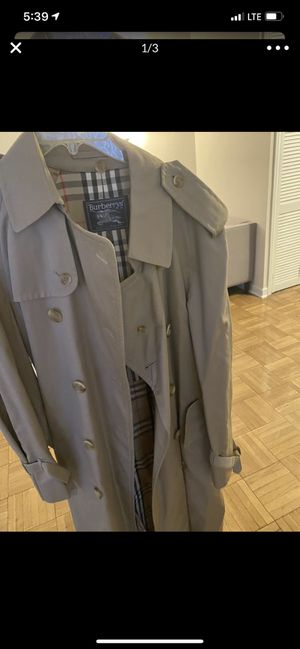 Burberry coat $200 obo for Sale in Los Angeles, CA